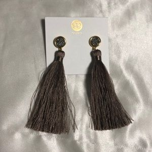 Gorjana Tassel earrings.